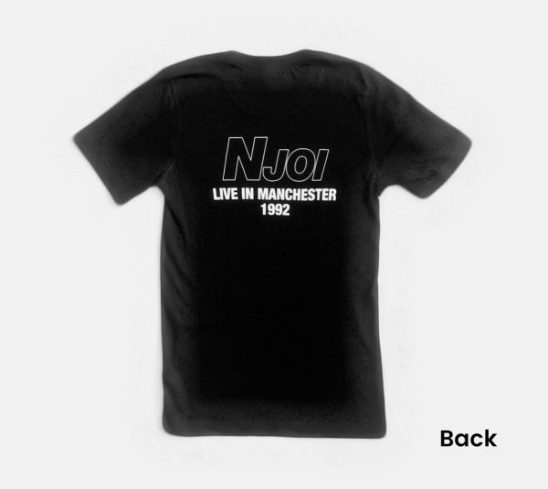 N-Joi Live in Manchester T-Shirt Back