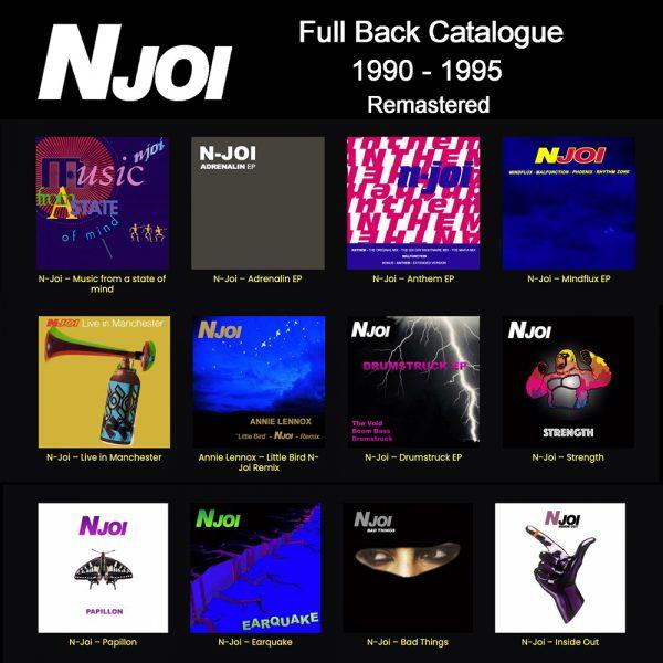 N-Joi Full Back Catalogue